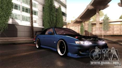 Nissan 200sx para visión interna GTA San Andreas