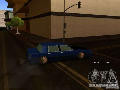 Willard Drift Style para la visión correcta GTA San Andreas