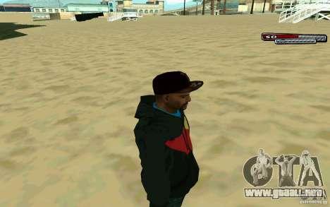 Drug Dealer HD Skin para GTA San Andreas tercera pantalla