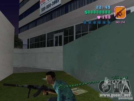 AK-103 para GTA Vice City quinta pantalla