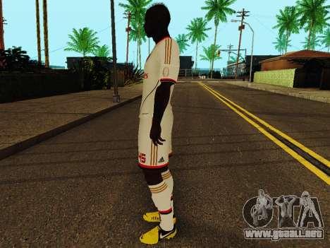 Mario Balotelli v2 para GTA San Andreas tercera pantalla