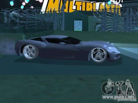 Chevrolet Corvette Stingray para GTA San Andreas left