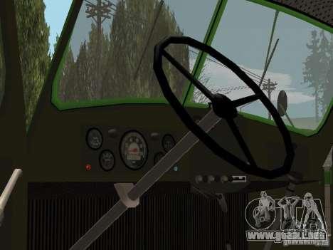 ZIL 164 para GTA San Andreas vista hacia atrás