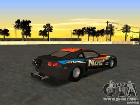 Chevrolet Camaro NOS para GTA San Andreas left