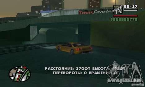 Vehículos RC para GTA San Andreas quinta pantalla