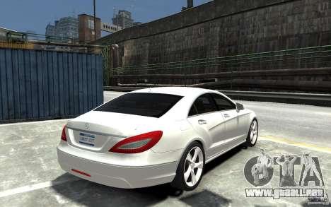 Mercedes-Benz CLS 350 para GTA 4 visión correcta