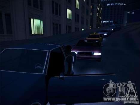 ENBSeries by CatVitalio para GTA San Andreas quinta pantalla