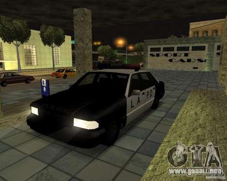 Nuevas máquinas de textura para GTA San Andreas sexta pantalla