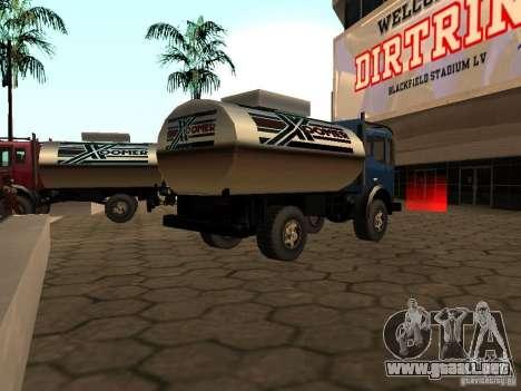Tanque duna para GTA San Andreas left