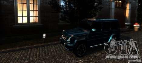 Mercedes-Benz G65 AMG [W463] 2012 para GTA 4 interior