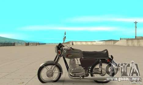 634V5 actualización Jawa 350 para GTA San Andreas left
