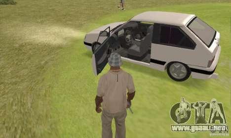 VAZ 2113 LSP Tuning para GTA San Andreas vista hacia atrás