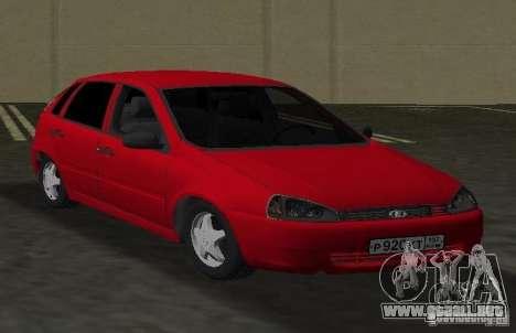LADA Kalina 1119 para GTA Vice City