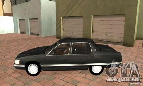 Cadillac Deville v2.0 1994 para GTA San Andreas left