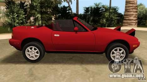 Mazda MX-5 para GTA Vice City left