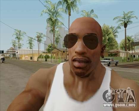 Brown anteojos aviadores para GTA San Andreas