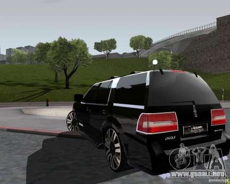 Lincoln Navigator para GTA San Andreas left