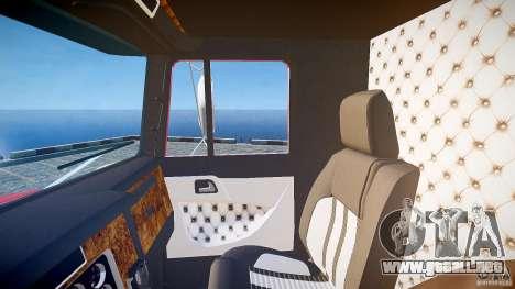 Kenworth W900 v1.0 para GTA 4 vista superior