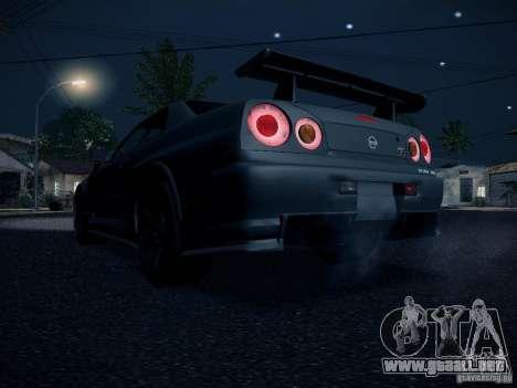 Nissan Skyline Z-Tune para la visión correcta GTA San Andreas