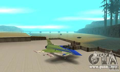 Eurofighter 2010 para GTA San Andreas