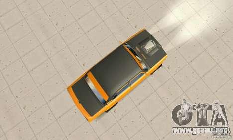 VAZ 2107 Off Road para la visión correcta GTA San Andreas