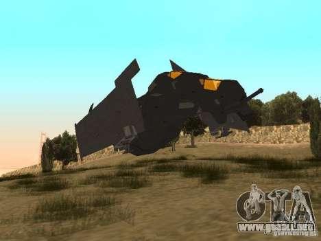 Vtol Crysis para GTA San Andreas left