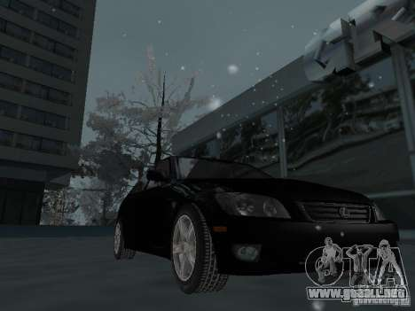 Lexus IS300 para la vista superior GTA San Andreas