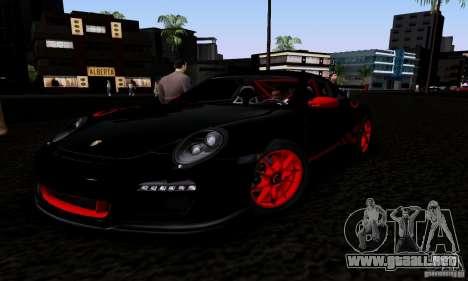 Porsche 911 GT3 RS para visión interna GTA San Andreas