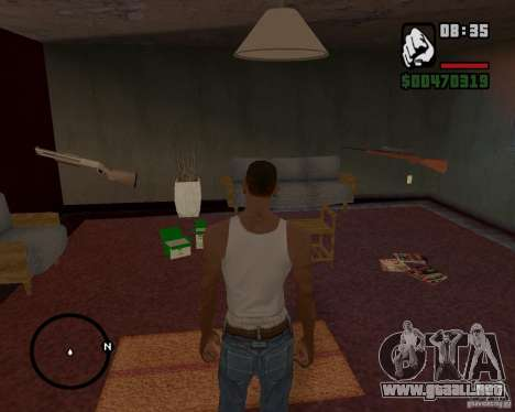 Casa Hunter v 1.0 para GTA San Andreas quinta pantalla