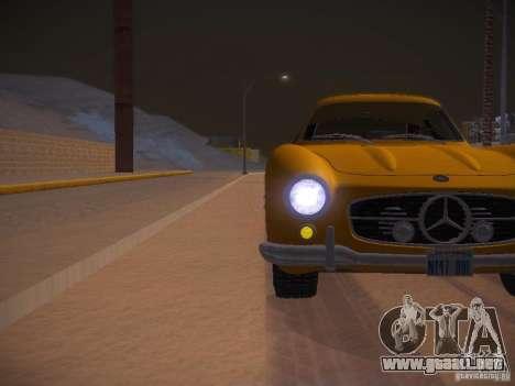 Mercedes-Benz 300SL para la vista superior GTA San Andreas