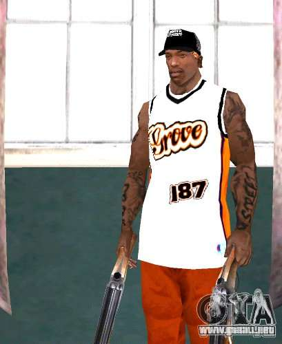 Bandas de reemplazo, tatuajes, ropa, etc.. para GTA San Andreas séptima pantalla