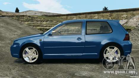 Volkswagen Golf 4 R32 2001 v1.0 para GTA 4 left