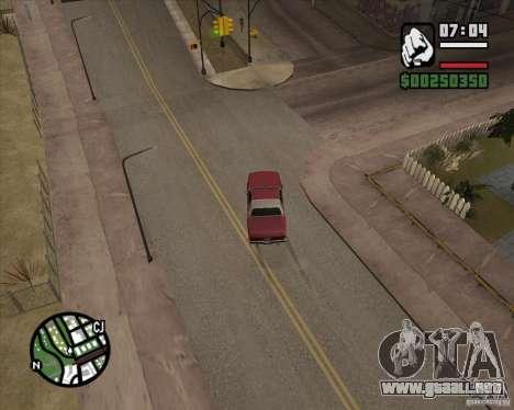 Cámara como en GTA Chinatown Wars para GTA San Andreas sexta pantalla