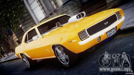 Chevrolet Camaro para GTA 4