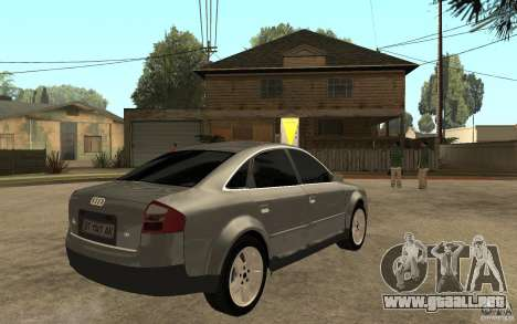 Audi A6 3.0i 1999 para la visión correcta GTA San Andreas