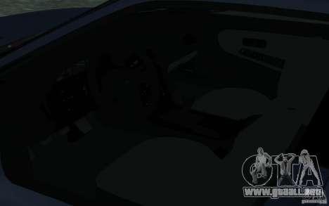 Nissan Onevia (Silvia) S13 para visión interna GTA San Andreas