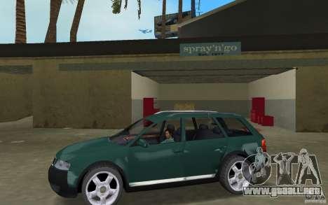 Audi Allroad Quattro para GTA Vice City left