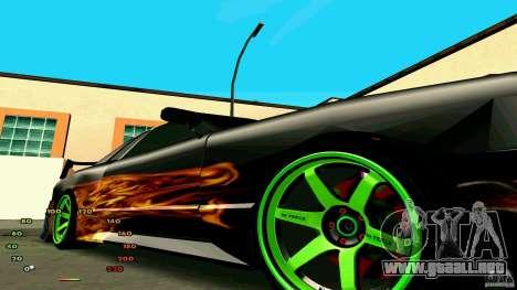 Elegía por fen1x para GTA San Andreas vista posterior izquierda