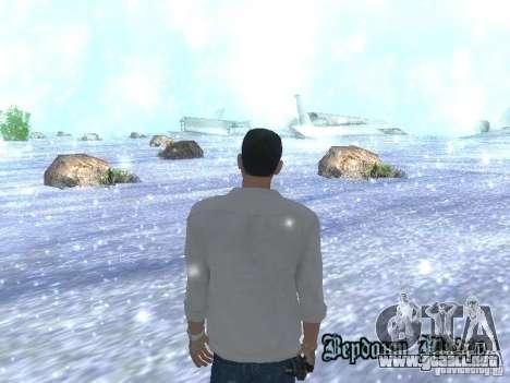 Snow MOD HQ V2.0 para GTA San Andreas tercera pantalla