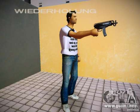 Vz-61 Skorpion para GTA Vice City