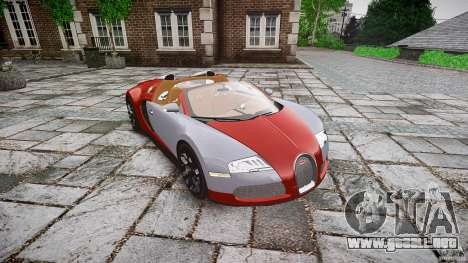 Bugatti Veyron Grand Sport [EPM] 2009 para GTA 4