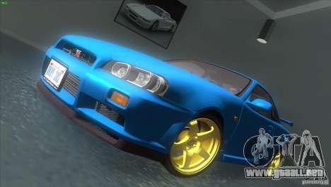 Nissan Skyline GTR-34 para GTA San Andreas