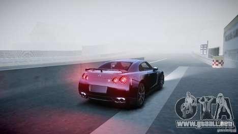 Nissan GT-R R35 V1.2 2010 para GTA 4 visión correcta