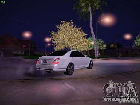 Mercedes-Benz S65 AMG V2.0 para vista lateral GTA San Andreas