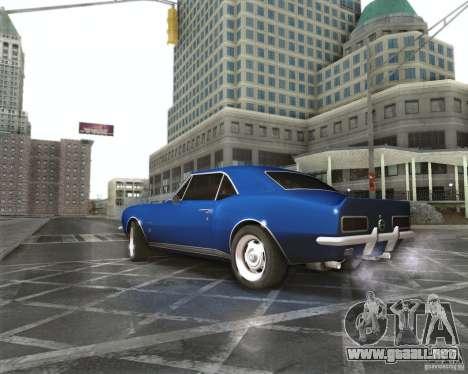 Chevrolet Camaro 1969 para GTA San Andreas left
