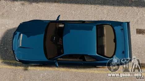 Nissan Skyline GT-R R34 Fast and Furious 4 para GTA 4 visión correcta