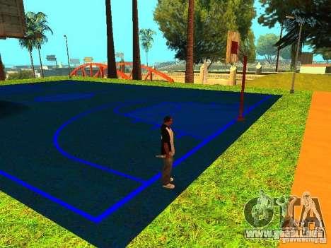 Cancha de baloncesto para GTA San Andreas