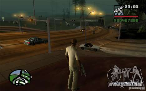 Intersecciones no reguladas para GTA San Andreas