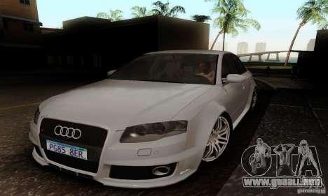 Audi RS4 2007 para GTA San Andreas