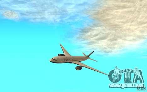 Boeing 777-300ER para GTA San Andreas